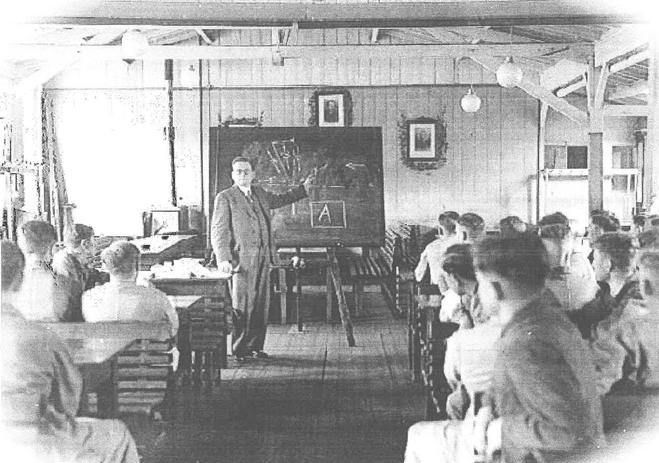 Werksuntericht der Betriebslehrlinge 1939 - Steinmüller